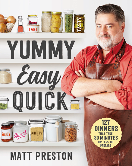 Matt Preston Book Launch - Yummy, Easy, Quick
